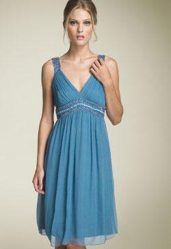Stenay beaded crinkle silk dress