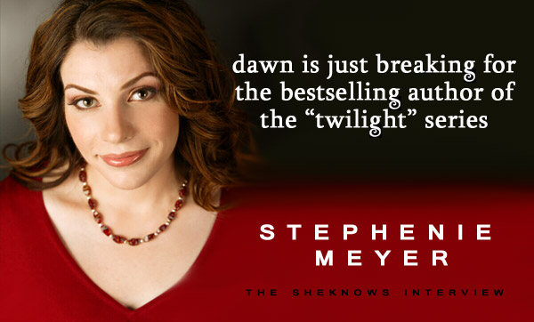Stephenie Meyer interview