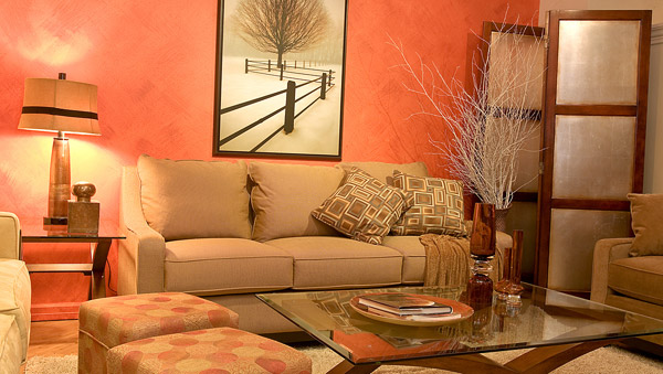 Five home style tips that cost less than 50 for Ver colores de pinturas para casas interiores