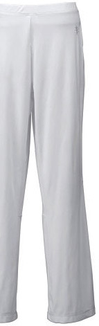 White sunblock pants