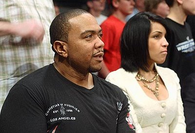 Timbaland and his new wife, Monique