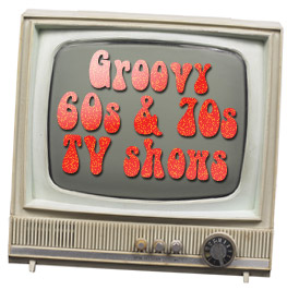 TV set - Groovy 60s and 70s TV shows - go retro!