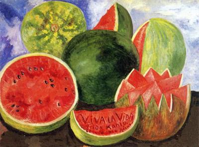 Viva La Vida watermelon - coldplay