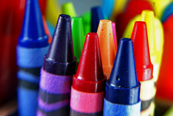 How to get crayon stains out of fabric