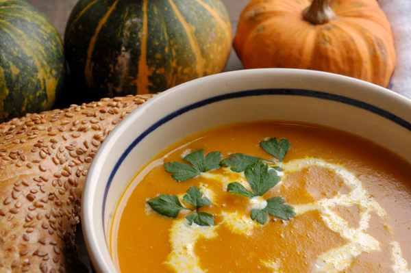 Creamy Pumpkin Soup