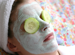 Homemade facial