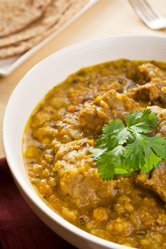 Curried Comfort food