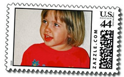 Custom postage stamp