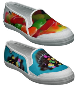 custom-made shoes at Zazzle.com