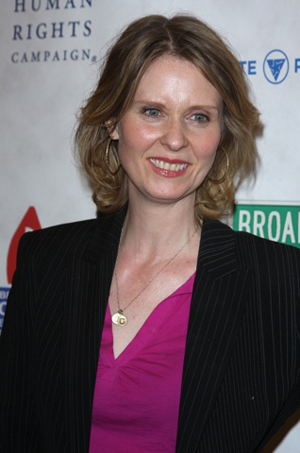 Cynthia Nixon is getting married!