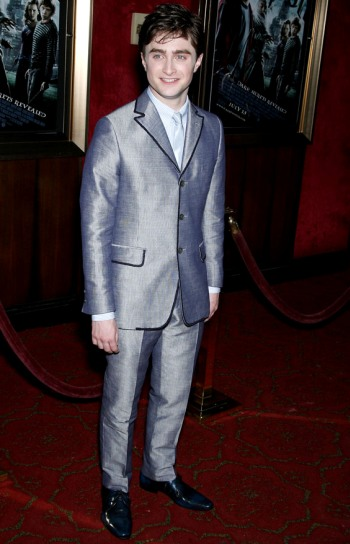 Daniel Radcliffe at the New York premiere of Harry Potter