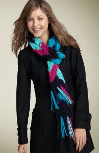 David & Young zigzag scarf