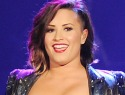 Demi Lovato is sporting a new accessory — an arm sling