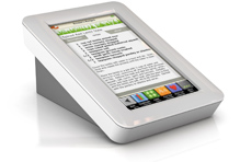 Demy Kitchen Safe Touch Screen Recipe Reader