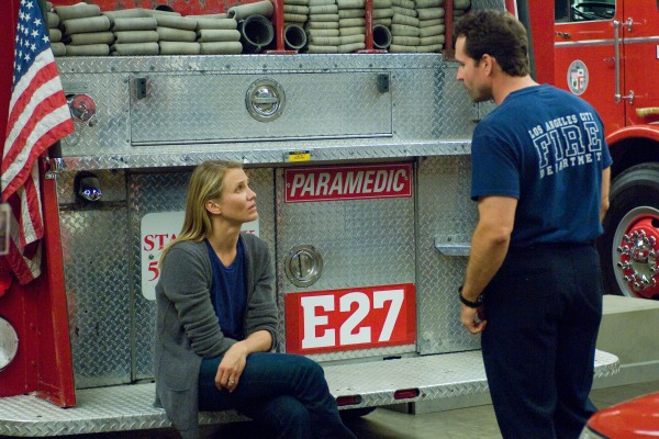Cameron Diaz and Jason Patric talk it out in My Sister's Keeper