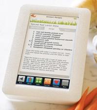 digital recipe reader