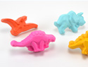 If your kids like dinosaurs they'll love these DIY drawer knobs
