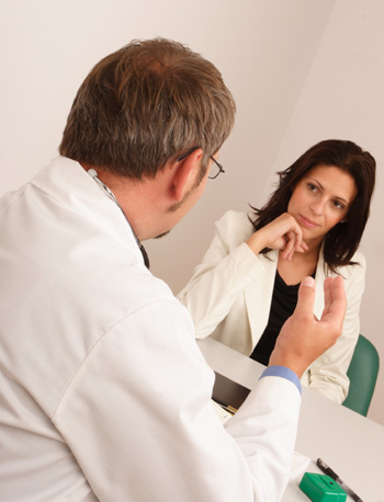 Doctor Consulting Woman