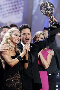 Rock n' roll bro takes DWTS title