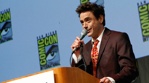 Downey does Comic Con