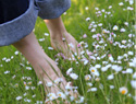 Why walking barefoot is good for your health