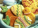 Spring into Easter: Oatmeal sugar cookie cutouts