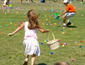 Easter-themed exercises for the kids