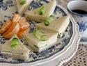 Easy tea sandwiches make adorably elegant party bites