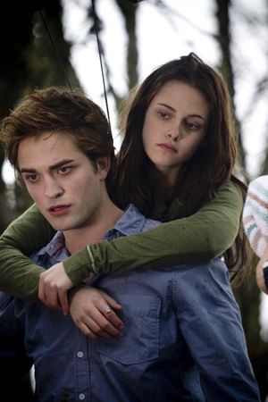 Edward and Bella in Twilight: vampire love never looked so good