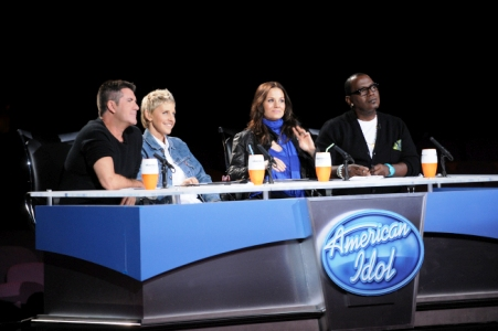 Ellen wins the Idol vote