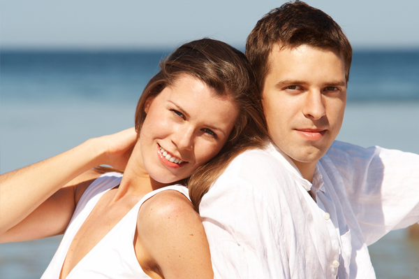 Eloped Couple on Beach