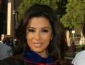 Eva Longoria receives her master's degree