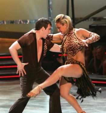 Evan and Randi do the Samba