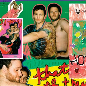 "EXCLUSIVE: James Franco's ""HOTSEX"" artwork feat. Seth Rogen"