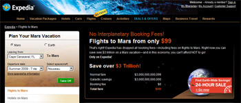Trips to Mars!