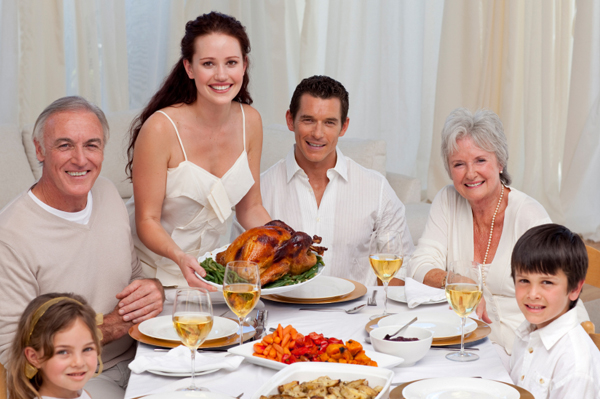 Extended Family Thanksgiving