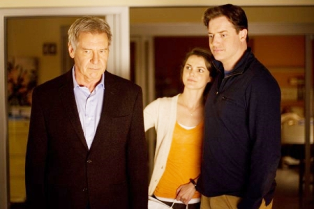 Harrison Ford, Keri Russell and Bredan Fraser in Extraordinary Measures