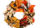 Beautiful fall decor on a shoestring