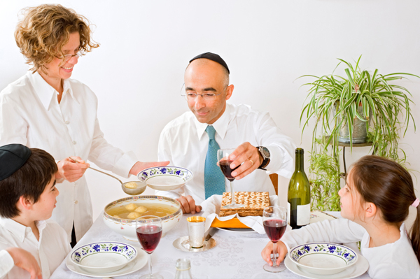 Family at Passover