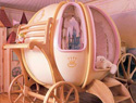 Princess-themed bedroom for girls