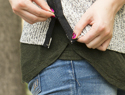 Fashion DIY: How to spruce up a plain sweater