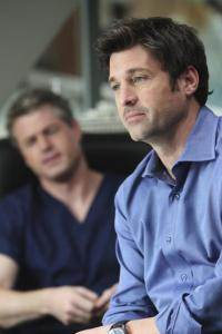 Patrick Dempsey is Derek on Grey's Anatomy