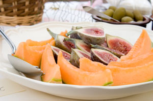 Figs and melon