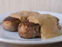 Filet mignon with a chestnut cream sauce to fancy up your next dinner party