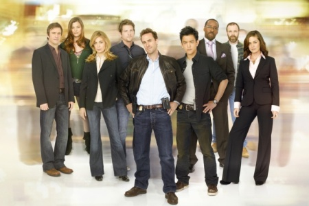 The cast of ABC's FlashForward