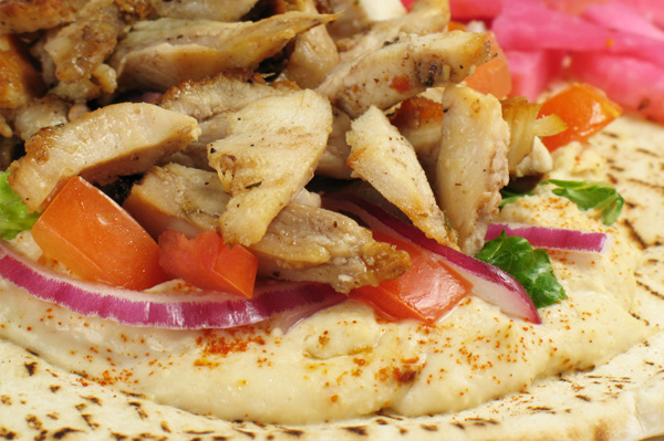 Flatbread with Chicken