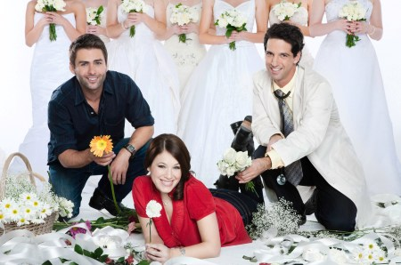 Marla Sokoloff is The Flower Girl, airing November 15 on The Hallmark Channel