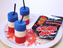 Fourth of July firecracker cakelette recipe