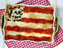 We pledge allegiance to the American flag of lasagna