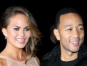 Free pass? John Legend's wife lets him look at other women